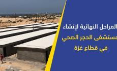 مسشتفى الحجر الصحي بغزة في مراحله النهائية