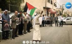 وقفة مساندة للأسرى أمام مقر الصليب الأحمر في طولكرم