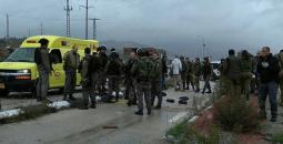 حاجز زعترة الإسرائيلي جنوب نابلس