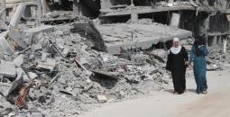 الاحتلال دمر 800 منزلا بغزة خلال 2014