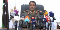 المتحدث باسم قوات شرق ليبيا أحمد المسماري