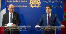 وزيرا خارجية المغرب وفرنسا