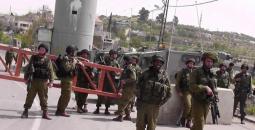 الاحتلال يعرقل حركة المواطنين شرق قلقيلية