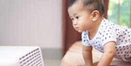 مخاطر المكيف على الرضيع
