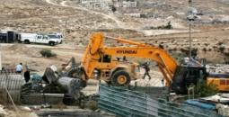 الاحتلال يهدم بركساً بسلوان جنوب الأقصى