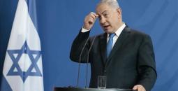 رئيس الوزراء الإسرائيلي، بنيامين نتانياهو،