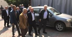 وفد لجنة الانتخابات يغادر غزة