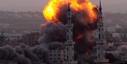 قصف على غزة.jpeg