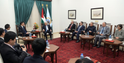 زيارة السفير لمقر المقاطعة برام الله