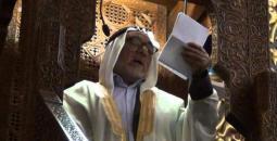 خطيب المسجد الأقصى الشيخ إسماعيل نواهضة