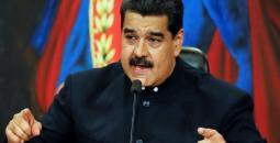 رئيس جمهورية فنزويلا البوليفارية نيكولاس مادورو