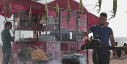 Gaza beach vendors MEE Mohammed Salem.jpg