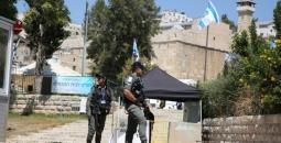 الحرم الإبراهيمي في مدينة الخليل