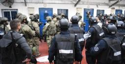 نادي الأسير: الاحتلال يقمع قسم (1) في سجن