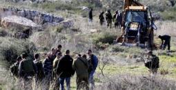 الاحتلال يقتحم أراضي الفلسطينيين.jpeg