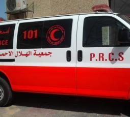 الهلال الأحمر في نابلس يعود للعمل بعد توقفه لأيام