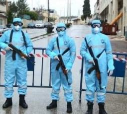 الأجهزة الأمنية تنفذ خطة الطوارئ في نابلس