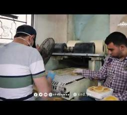 محلات الحلويات في نابلس تستمر في العمل رغم كورونا