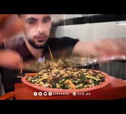 مأكولات شعبية بغزة على مائدة رمضان