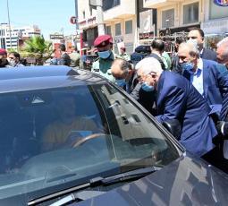 جولة الرئيس محمود عباس في مدينة رام الله