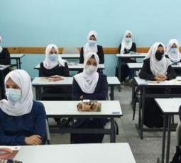 عودة طلاب التوجيهي للمدارس وفق إجراءات السلامة في غزة