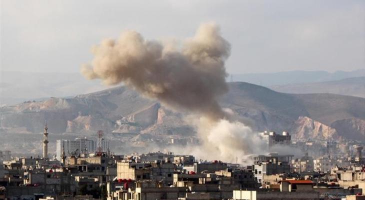 قصف إسرائيل لسوريا