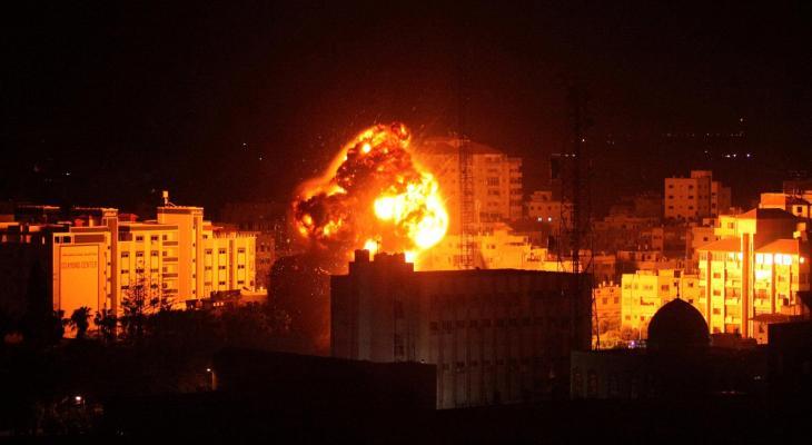 قصف متواصل على غزة