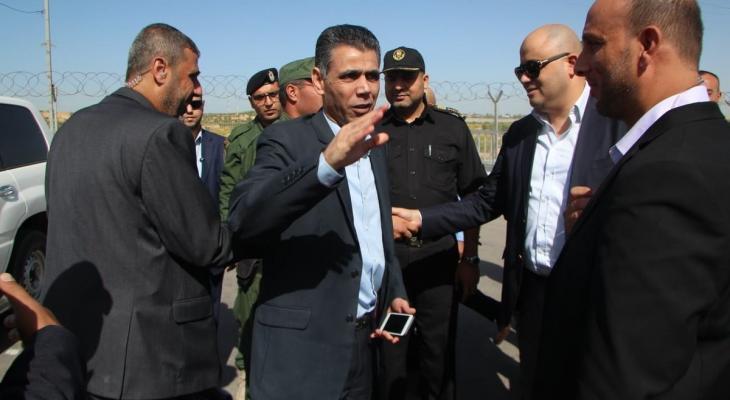 الوفد الأمني المصري