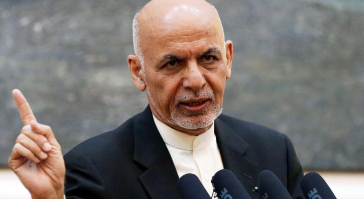 الرئيس الأفغاني