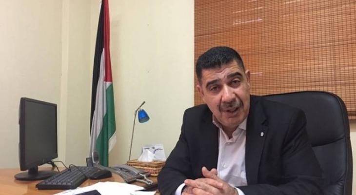 رئيس لجنة الشؤون المدنية في قطاع غزة صالح الزق