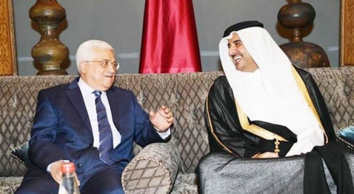 الرئيس عباس يلتقي أمير قطر اليوم
