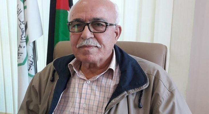 عضو اللجنة التنفيذية لمنظمة التحرير الفلسطينية صالح رأفت