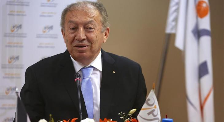 وزير الاقتصاد الفلسطيني خالد العسيلي