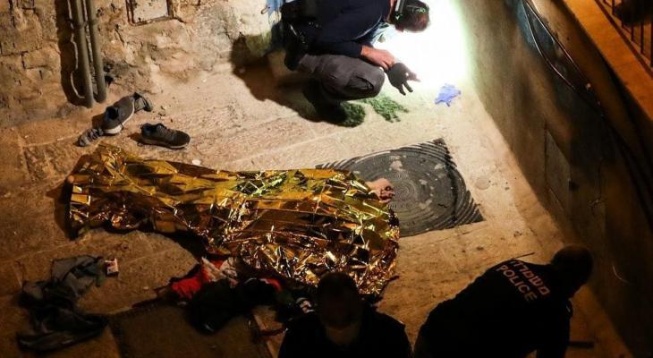 جثمان الشهيد محمود كميل منفذ عملية باب حطة في القدس