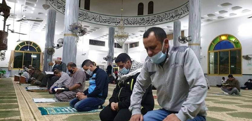 صلاة الفجر بمساجد نابلس بعد غياب قسري شهرين بسبب كورونا