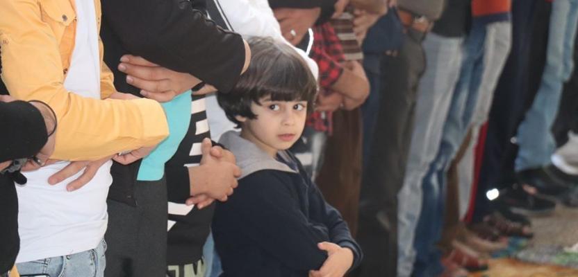 صلاة عيد الفطر في مساجد وساحات نابلس