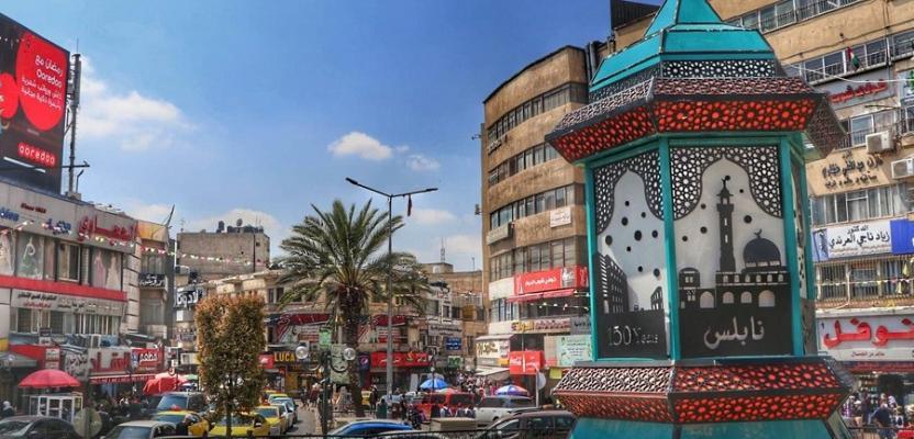 أسواق نابلس في اليوم الأول من رمضان