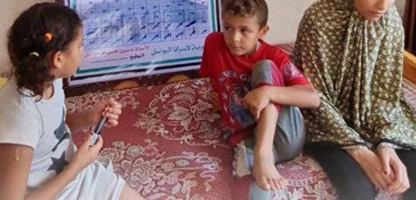 أطفال الأسيرة نسرين أبو كميل يعدون اللحظات للقاء والدتهم