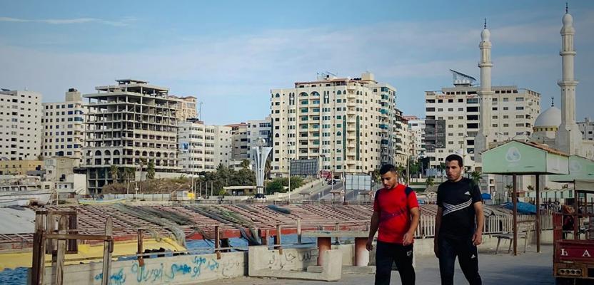 ميناء غزة تستقبل زوارها بعد عام من إغلاقها بسبب كورونا